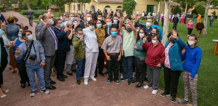 Inauguradas cuatro viviendas con apoyos para personas con discapacidad intelectual y del desarrollo en Cuenca