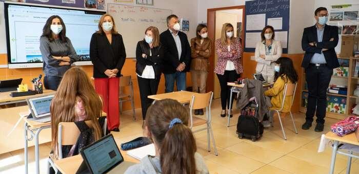 40 dinamizadores digitales ayudarán al alumnado y profesorado de los centros educativos de la región a mejorar sus competencias digitales