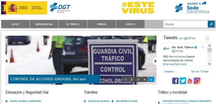 OCU denuncia las dificultades para gestionar trámites en la web de Tráfico