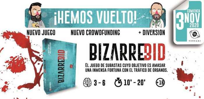 Cerebrer Games, una joven editorial manchega, crea una campaña de micromecenazgo para lanzar su nuevo juego