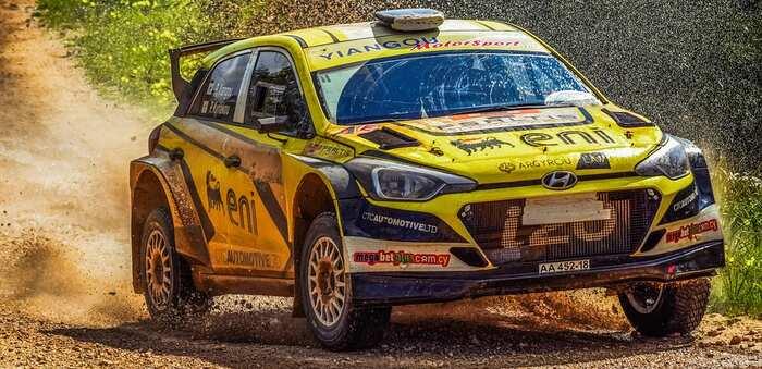Herida una joven mientras competía en el Rally TT Cuenca