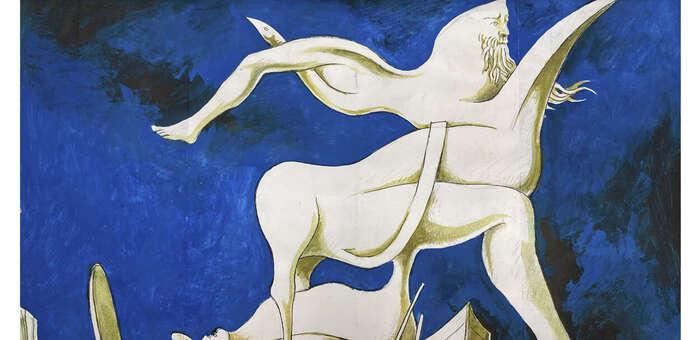 La UCLM rinde tributo al pintor y poeta surrealista Cruzeiro Seixas en la exposición 'Cuadernos de poesía'