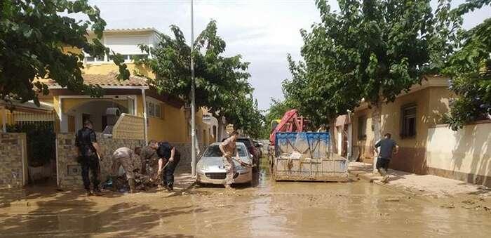 Política Territorial y Función Pública convoca ayudas para reparar daños por temporales y catástrofes por importe de 76 millones de euros