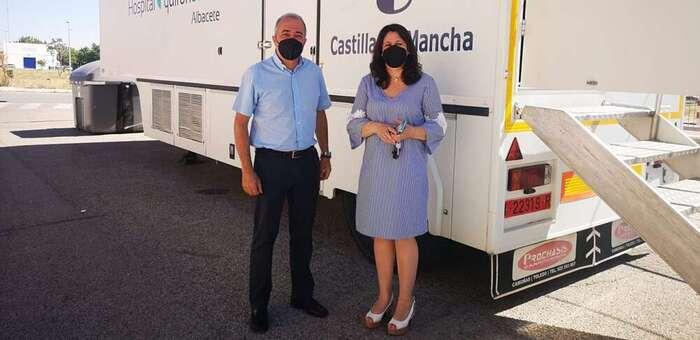 La Unidad móvil de Detección Precoz del Cáncer de mama atenderá en Villarrobledo a 3.600 mujeres de entre 45 y 70 años