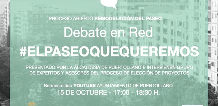 A debate en directo el proeycto de remodelación del Paso