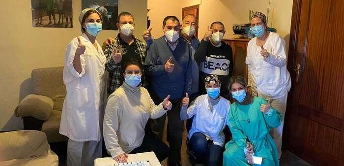 Culmina en Manzanares el proceso de vacunación de todos los centros sociosanitarios