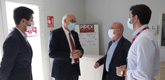 Pipex ampliará sus instalaciones en Manzanares para duplicar su producción y su plantilla