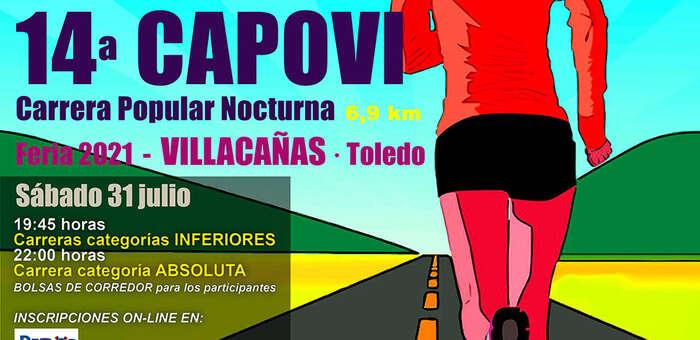 217 corredores participarán mañana en la 14ª CAPOVI de Villacañas