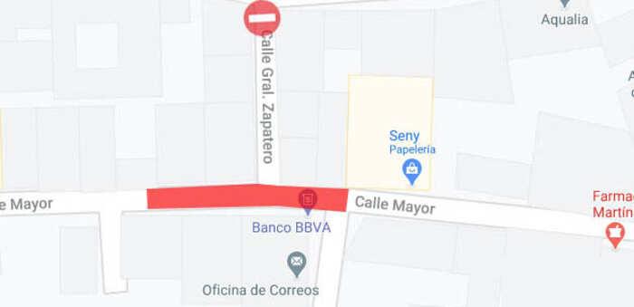 El lunes comenzará en Villcañas la obra de renovación de la red de alcantarillado en la calle Mayor