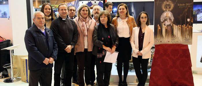 La solemnidad, el recogimiento y la intimidad de la Semana Santa toledana, presente en la Feria Internacional de Turismo
