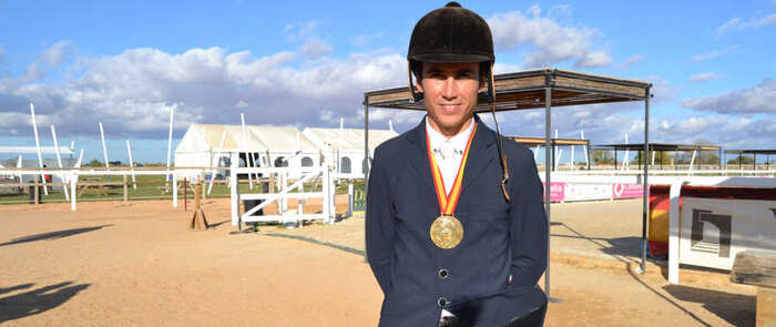 Gonzalo Blasco se proclama Campeón de España de Concurso Completo de Equitación