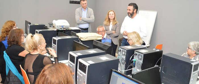 CapacitaTIC acerca en azuqueca las nuevas tecnologías a las personas mayores de 55 años