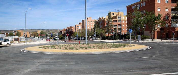 Abiertas al tráfico en Toledo la avenida Río Guadiana y las nuevas rotondas de acceso al Hospital