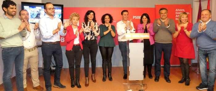 El PSOE reedita victoria electoral y mejora resultados en la provincia
