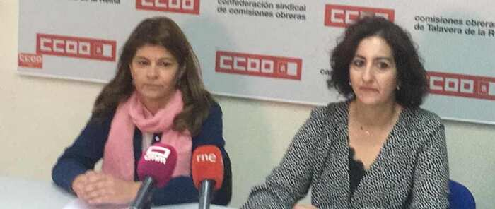 """""""El alcalde del PP de Talavera se promociona electoralmente con el dinero del Pacto de Estado contra la Violencia de Género. Las mujeres de CCOO no lo vamos a consentir"""""""