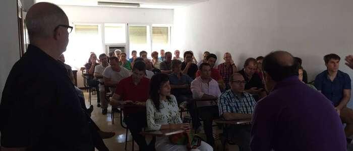 Los trabajadores de Elcogás vuelven a movilizarse para denunciar la falta de ofertas laborales por la desidia de sus accionistas