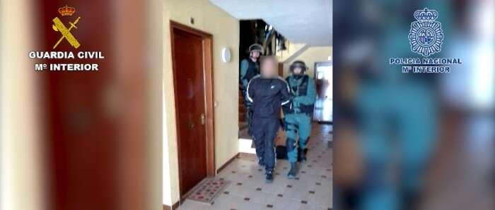 Detenidos 22 miembros de una red  especializada en el robo, manipulación y tráfico ilícito de vehículos