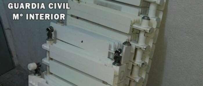 La Guardia Civil detiene en Seseña a cinco personas cuando estaban sustrayendo material de una vivienda