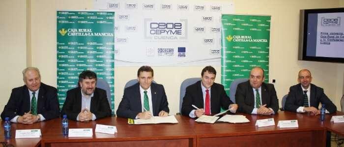 últimas noticias > Caja Rural CLM destina 60 millones de euros a los empresarios conquenses para financiar sus proyectos