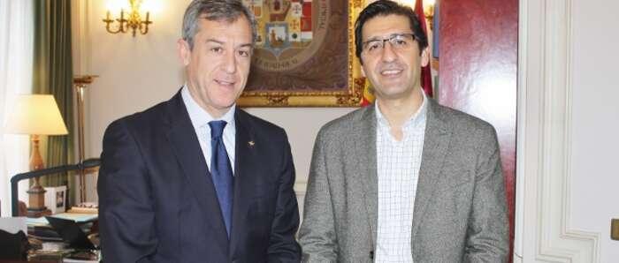Caja Rural CLM traslada a la Diputación de Ciudad Real su implicación con el desarrollo de la provincia