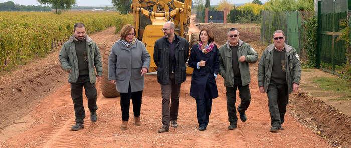 Junta y Diputación de Ciudad Real invierten más de 86.000 euros en la mejora de caminos rurales en Argamasilla de Alba