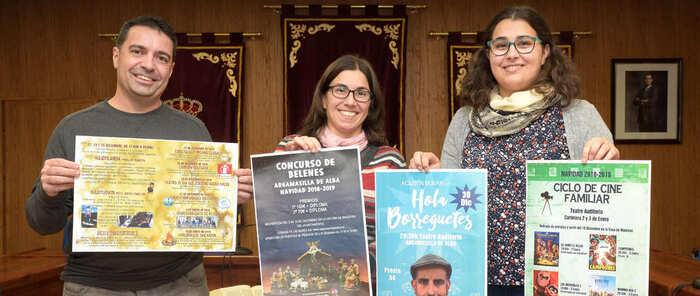 Las concejalías de Festejos y Cultura de Argamasilla de Alba presentan la programación para estas navidades