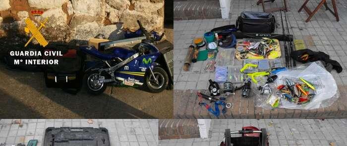 Detenidas tres personas como autoras de tres robos cometidos en la localidad de Valdeverdeja