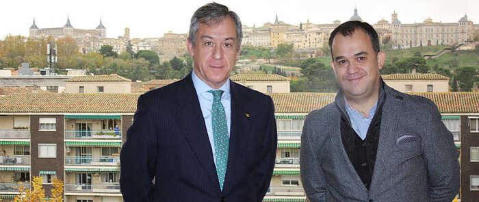 Eurocaja Rural recibe la visita del Colegio Oficial de Farmacéuticos