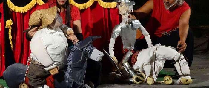 La 'Comedia Multimedia' de Inma Cuevas clausura en Torralba una fantástica edición del Festival Internacional de Teatro y Títeres