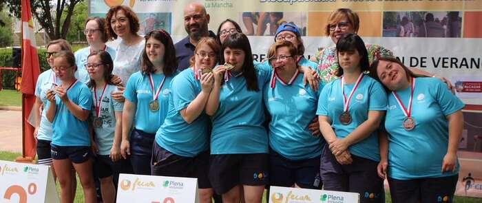 Cerca de 200 deportistas disfrutaron en Alcázar del 18º Campeonato de Natación de Verano de FECAM