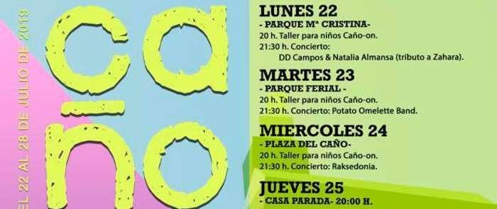Nueva edición del Caño On Festival a partir del día 22 de julio en Tarancón