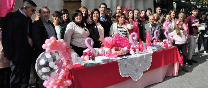 Caballero dice que con la prevención y la calidad de nuestra Sanidad pública hay motivo para la esperanza contra el cáncer de mama