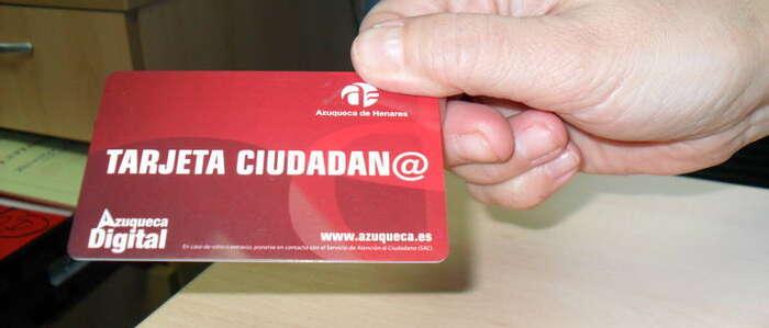 Ya son 27.531 los usuarios que se benefician en Azuqueca de las ventajas de la Tarjeta Ciudadana