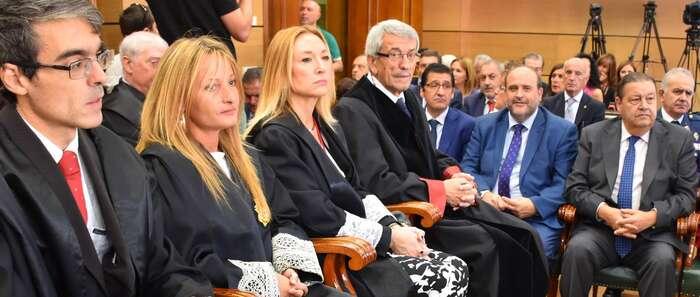 El vicepresidente primero del Gobierno regional asiste a la apertura del Año Judicial en Castilla-La Mancha