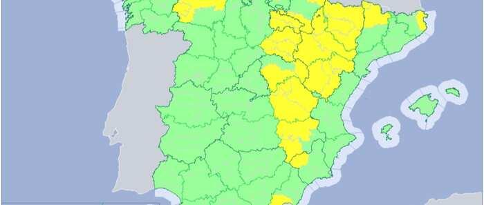 Guadalajara y Cuenca, en riesgo este martes por lluvias