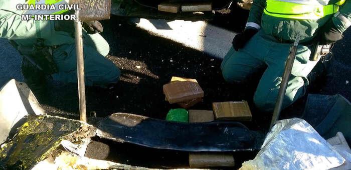 La Guardia Civil incauta en Villarta de San Juan más de 11 kilos de cocaína