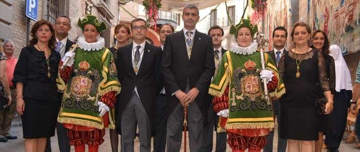 El presidente de la Diputación de Toledo destaca la importancia de representar a toda la provincia en la Procesión del Corpus Chriti