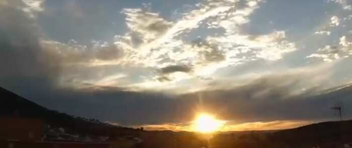 Video timelapse: Atardecer en Puertollano