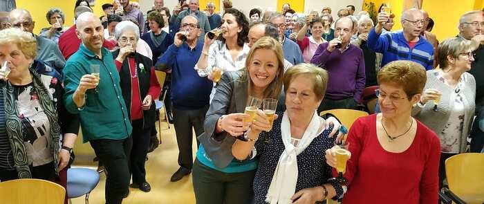 El Centro Municipal de Mayores de Valdepeñas del Lucero celebra su 12 cumpleaños