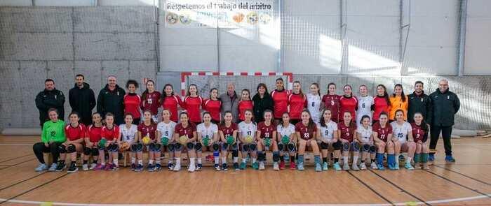 El Gobierno regional muestra su apoyo a las selecciones infantil y cadete de balonmano de Castilla-La Mancha