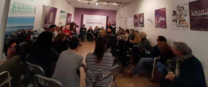 Podemos ve en el nuevo gobierno de coalición una oportunidad para Cuenca