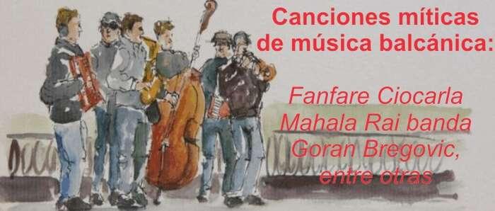 Balkan Orkestra Valdepeñas llevará la música balcánica el martes 3 a la Plaza de España