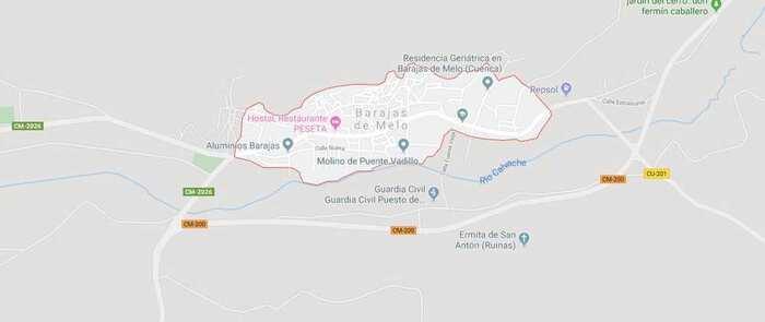Intoxicadas siete personas por la mala combustión de una caldera de gasoil en Barajas de Melo (Cuenca)