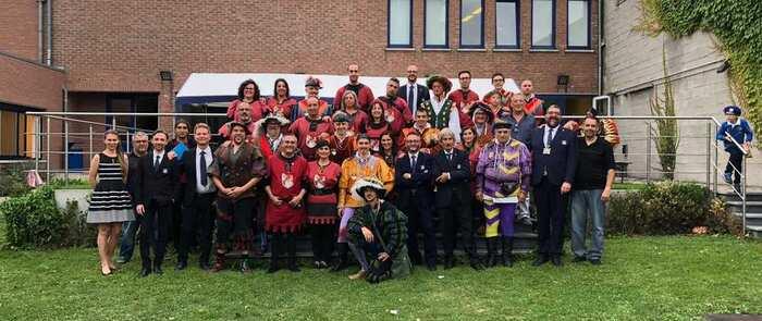Torrijos presente en Bélgica con el proyecto de recuperación de tradiciones medievales de la UE