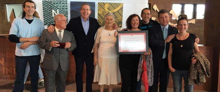 El botero valdepeñero Manuel Fresneda, Premio al Mérito Artesano de Castilla-La Mancha