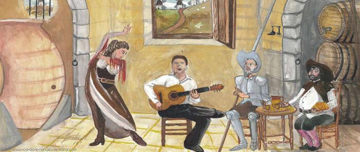 """Imagen: Ricardo Fernández del Moral traerá su """"Quijote y olé"""" el 4 de junio a Calzada de Calatrava, tras recibir el premio al Mérito Regional"""