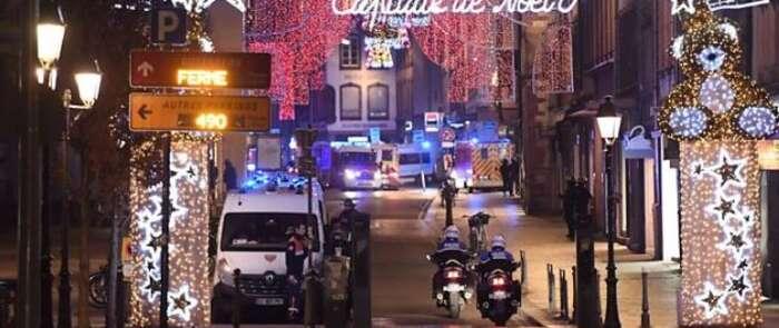 Tres muertos y trece heridos en un atentado terrorista en Estrasburgo