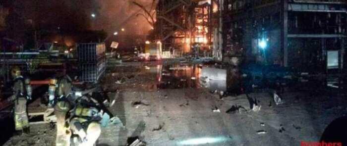 La explosión en la planta petroquímica de Tarragona deja dos víctimas mortales y ocho heridos, dos de gravedad