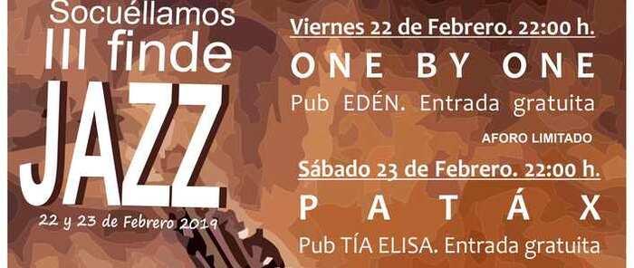 El III Finde Jazz traerá el 22 y 23 de febrero a Socuéllamos a las conocidas bandas Pátax y One by One