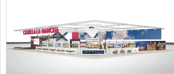 Castilla-La Mancha presentará su oferta turística al mundo en 360º, con un stand más grande y dinámico y la realidad virtual como protagonista